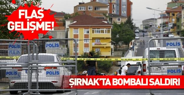 Şırnak'ta bombalı saldırı! Çok sayıda yaralı var