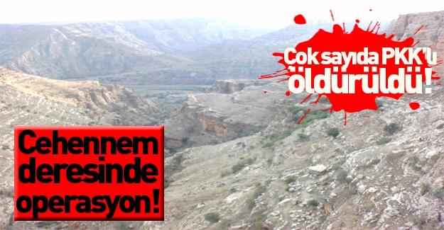 Şırnak'ta operasyon: Çok sayıda PKK'lı öldürüldü