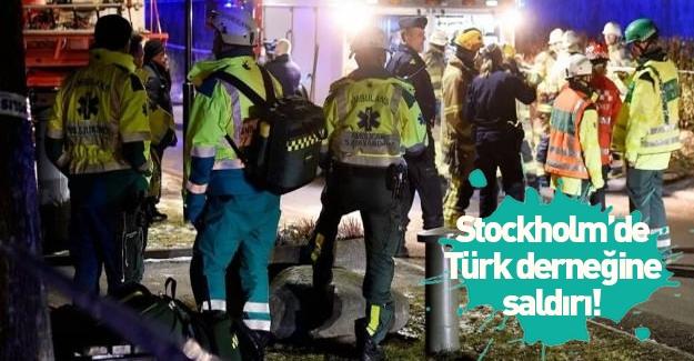 Stockholm'deki Türk Kültür Merkezi'nde saldırı