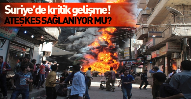 Suriye'de kritik gelişme!