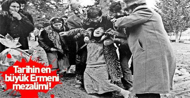Tarihin en büyük Ermeni mezalimi: Hocalı Katliamı