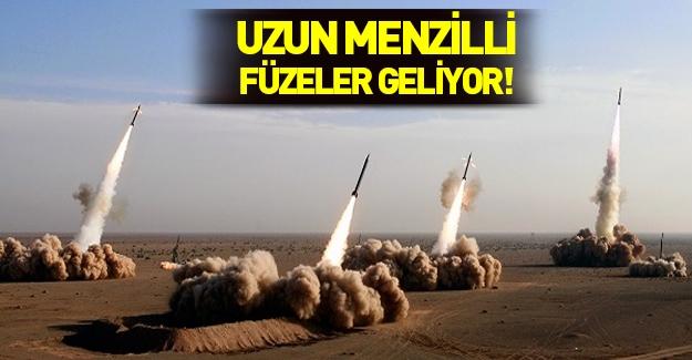Türkiye'den milli uzun menzilli füze müjdesi!