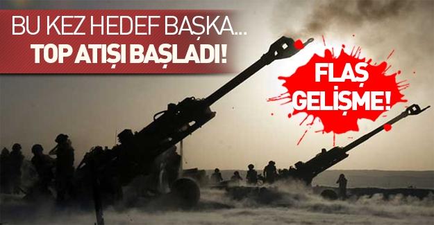 Türkiye PYD'den sonra terör örgütü DAEŞ'i de vurmaya başladı!