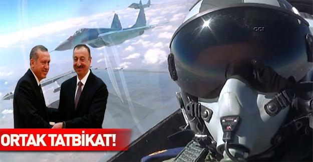 Türkiye ve Azerbaycan dev bir tatbikat yaptı!