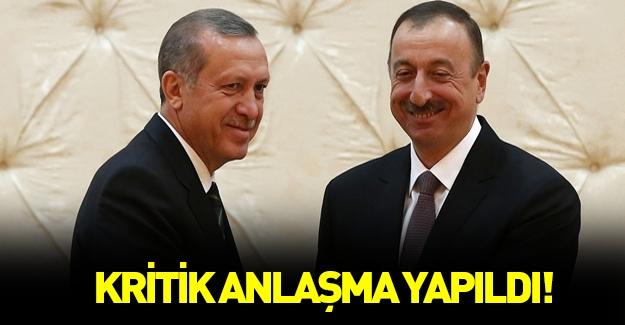 Türkiye ve Azerbaycan kritik anlaşmayı yaptı!