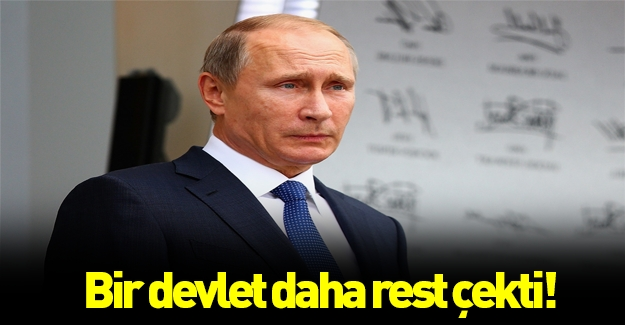 Ve o ülke de resti çekti: Rusya'yı istemiyoruz