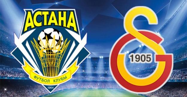 Astana Galatasaray maçı hangi kanallar şifresiz canlı yayınlayacak? Maçı bu kanallarda şifresiz izle...