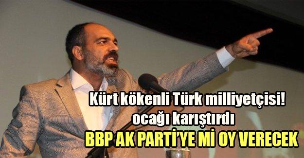 BBP kime oy verecek? Kürt kökenli Türk milliyetçisi (!) ocağı karıştırdı...