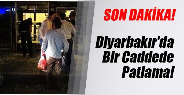 Diyarbakır'ın Bağlar ilçesinde patlama! Bombalı saldırı iddiası...