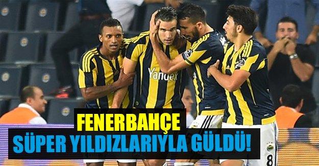 Fenerbahçe'ye 3 puanı yıldızları getirdi!