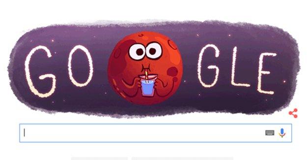 """Google'dan """"Mars'ta Su Bulundu"""" Doodle'ı! NASA Mars hakkında ne açıkladı?"""