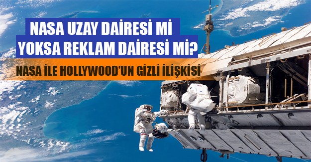 NASA: Uzay dairesi mi, yoksa reklam dairesi mi?