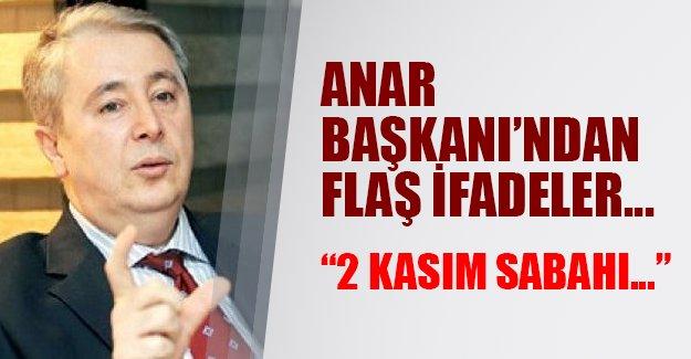 2 Kasım sabahı nasıl bir tablo olacak! ANAR Başkanı İbrahim Uslu'dan flaş ifadeler...