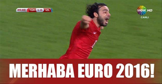 A Milli Futbol Takımımız tarih yazdı! EURO 2016'dayız