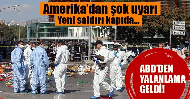 """ABD'den """"yeni saldırı kapıda"""" uyarısı geldiği iddia edildi. Ancak gerçek sonradan anlaşıldı"""