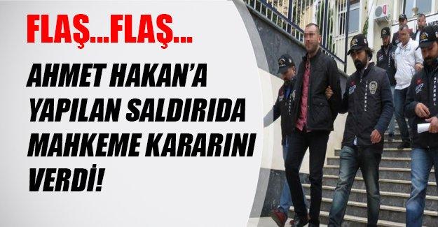 Ahmet Hakan'a saldırdığı ileri sürülen 7 kişiden sadece biri tutuklandı