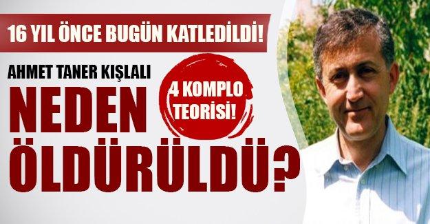 Ahmet Taner Kışlalı neden öldürüldü? İşte 4 komplo teorisi