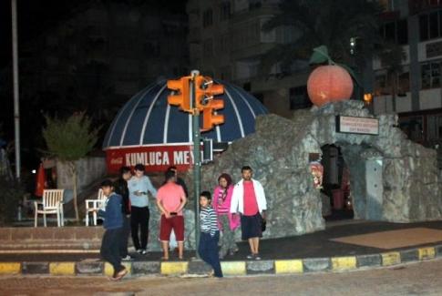 Antalya'da 5.2'lik deprem korkuttu