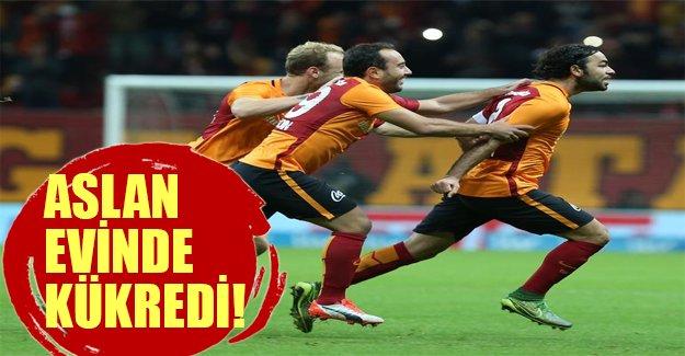 Aslan evinde kükredi! Eskişehirspor'u 4 golle geçti!