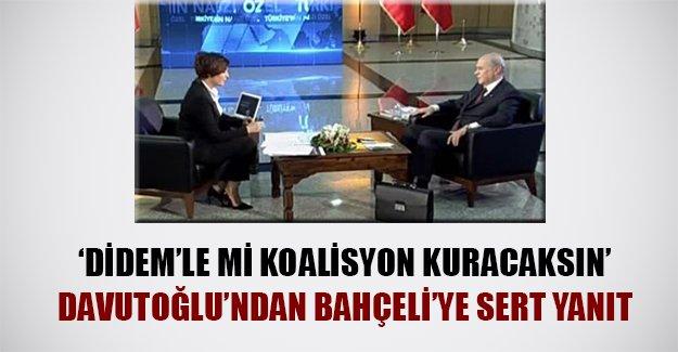 Başbakan Bahçeli'yi hedef aldı: 'Didem'le mi koalisyon kuracaksın!' İşte başbakandan flaş ifadeler...