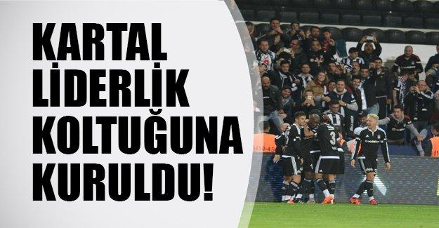 Beşiktaş derbi öncesi liderliğini korudu!