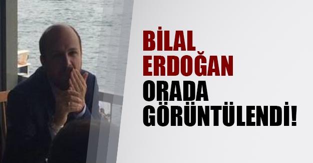 Bilal Erdoğan Beykoz'da görüntülendi!