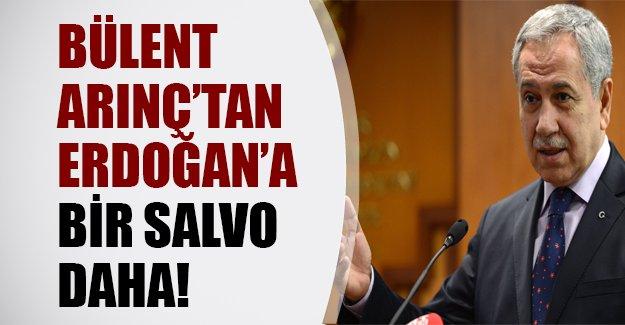 Bülent Arınç'tan bir salvo daha! Erdoğan'a karşı yeni bir parti mi kuruluyor?