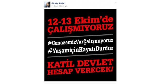 CHP'li yöneticiye şok! 'Katil devlet hesap verecek' paylaşımına soruşturma açıldı!