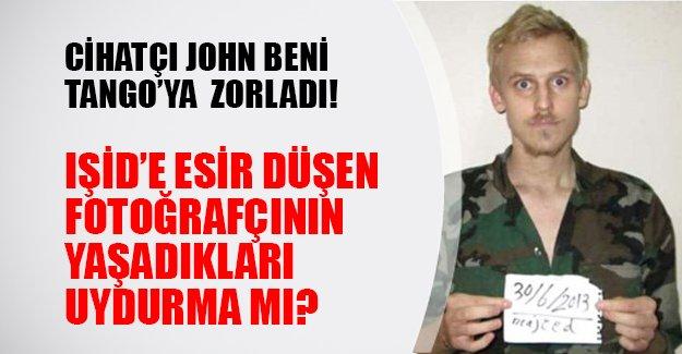 'Cihatçı John' lakaplı IŞİD militanı kaçırılan fotoğrafçıyla Tango mu yaptı? Danimarkalı fotoğrafçıdan tartışmalı iddialar