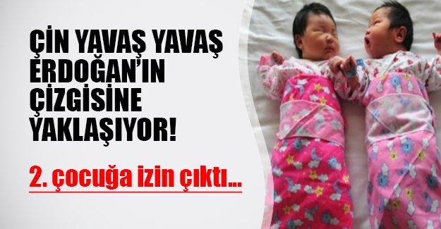Çinliler Erdoğan'ın çizgisine kaymaya başladı! 2. çocuğa onay çıktı...