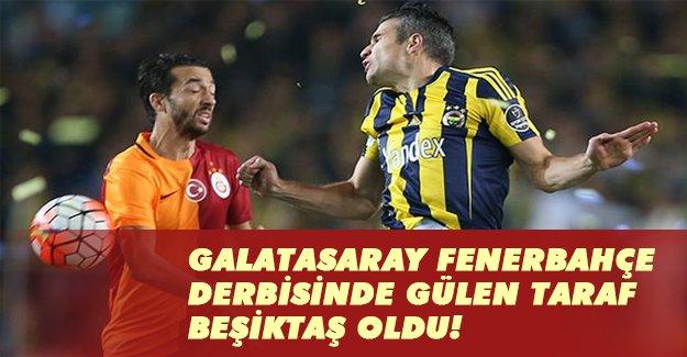 Fenerbahçe Galatasaray derbisinde gülen taraf Beşiktaş oldu!