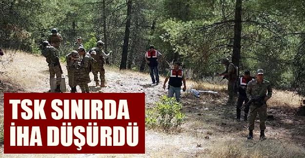 Flaş gelişme! Suriye sınırında İHA düşürüldü!
