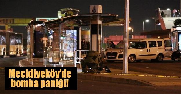 İstanbul'un göbeğinde bomba paniği! Bomba imha uzmanları olay yerinde