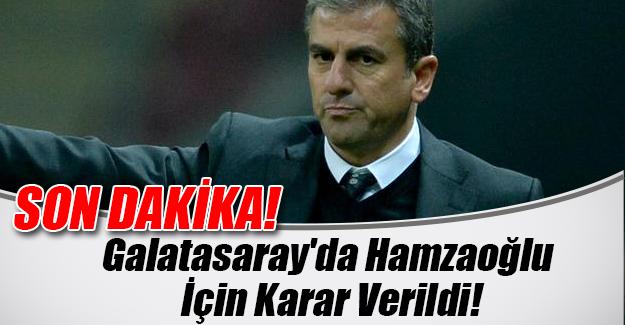 İşte Galatasaray yönetiminin son dakika Hamza Hamzaoğlu kararı! Veda mı ediyor?