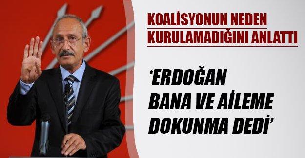 Kılıçdaroğlu'ndan flaş ifadeler! Bakın koalisyon neden kurulamamış