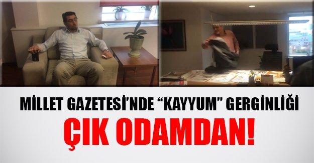 Millet Gazetesi Genel Yayın Yönetmeniyle kayyum arasında ilginç diyaloglar...
