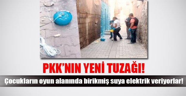 PKK'nın yeni oyunu! Birikmiş suya elektrik veriyorlar