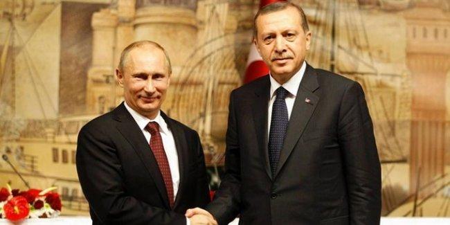 Rus yolcu uçağının düşmesinin ardından Erdoğan Putin'e başsağlığı telgrafı yolladı!