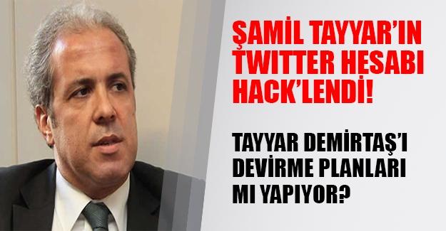 Şamil Tayyar'ın twitter adresi hacklendi! Tayyar'ın maillerinde Demirtaş'ı devirme planları mı var?