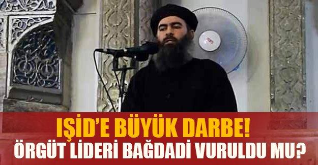 Şok iddia! IŞİD lideri Bağdadi ağır yaralı...