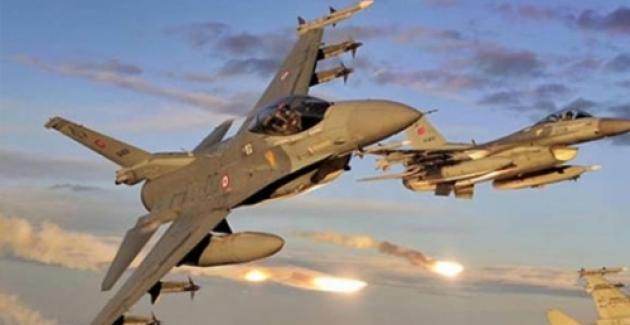 Suriye Türk uçaklarını taciz etti