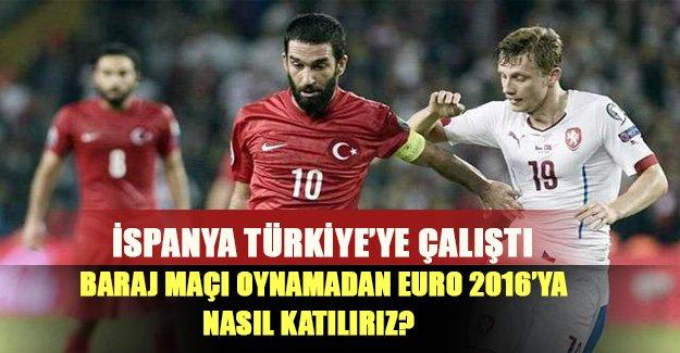 Türkiye direkt olarak EURO 2016'ya nasıl gider? İşte yanıtı..