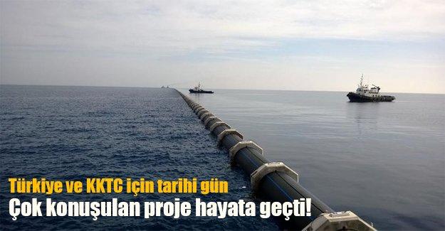 Türkiye ve KKTC denizin altından birbirine bağlandı! İşte o projenin detayları