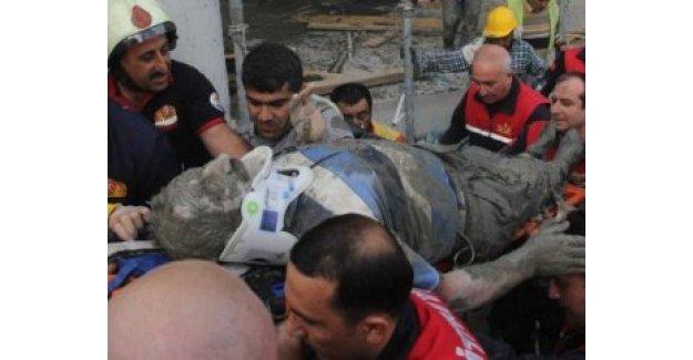 Adana'da göçük: 5 işçi yaralı