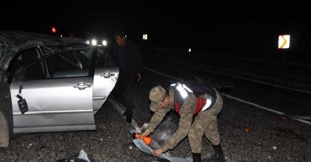 Adıyaman'da feci kaza! 1 ölü 4 yaralı!