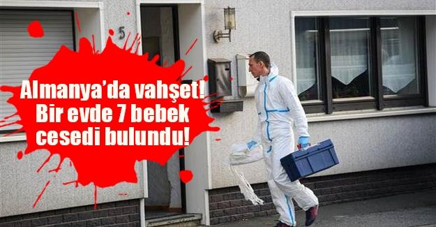 Almanya'da dehşet bir olay yaşandı! Bavyera eyaletinde bir evde 7 bebeğe ait ceset bulundu!