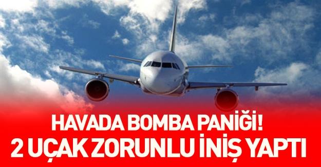 Avrupa'da bomba paniği! Şimdi de havalanan uçaklar zorunlu iniş yaptı