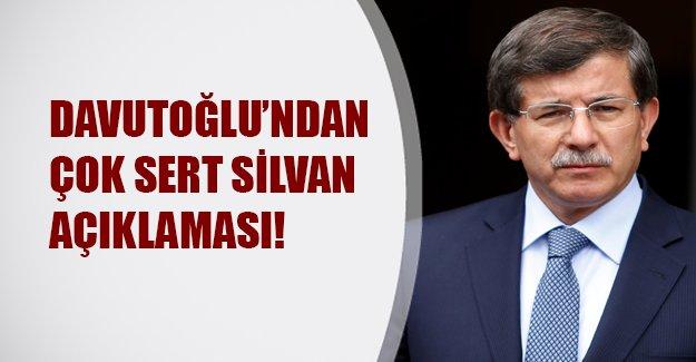 Başbakan Davutoğlu'ndan çok sert Silvan açıklaması: Kimse şov yapmasın