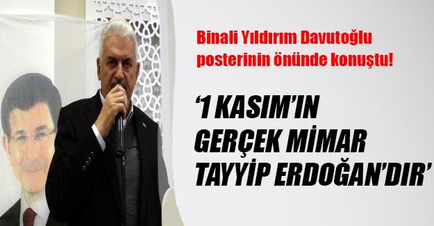 Binali Yıldırım: 1 Kasım başarısının mimarı Cumhurbaşkanı Erdoğan'dır