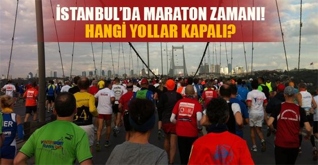 Bugün Boğaziçi köprüsünde maraton var! İşte kapatılan ve alternatif yolların listesi!